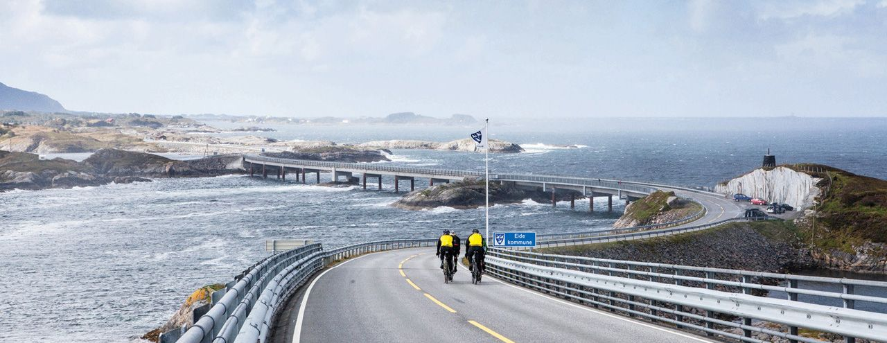 Атлантическая дорога в Норвегии (16 фото)