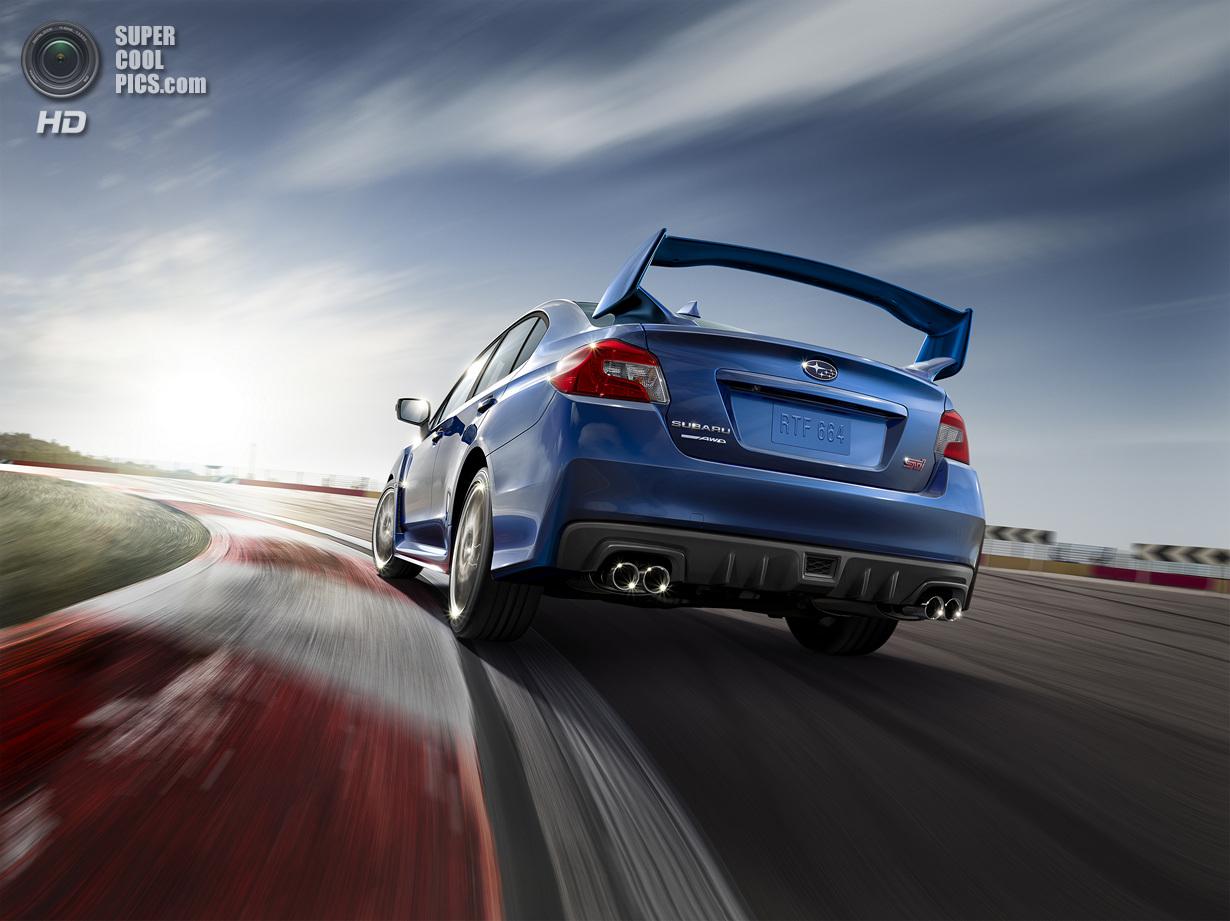 Subaru презентовала WRX STI нового поколения (17 фото)