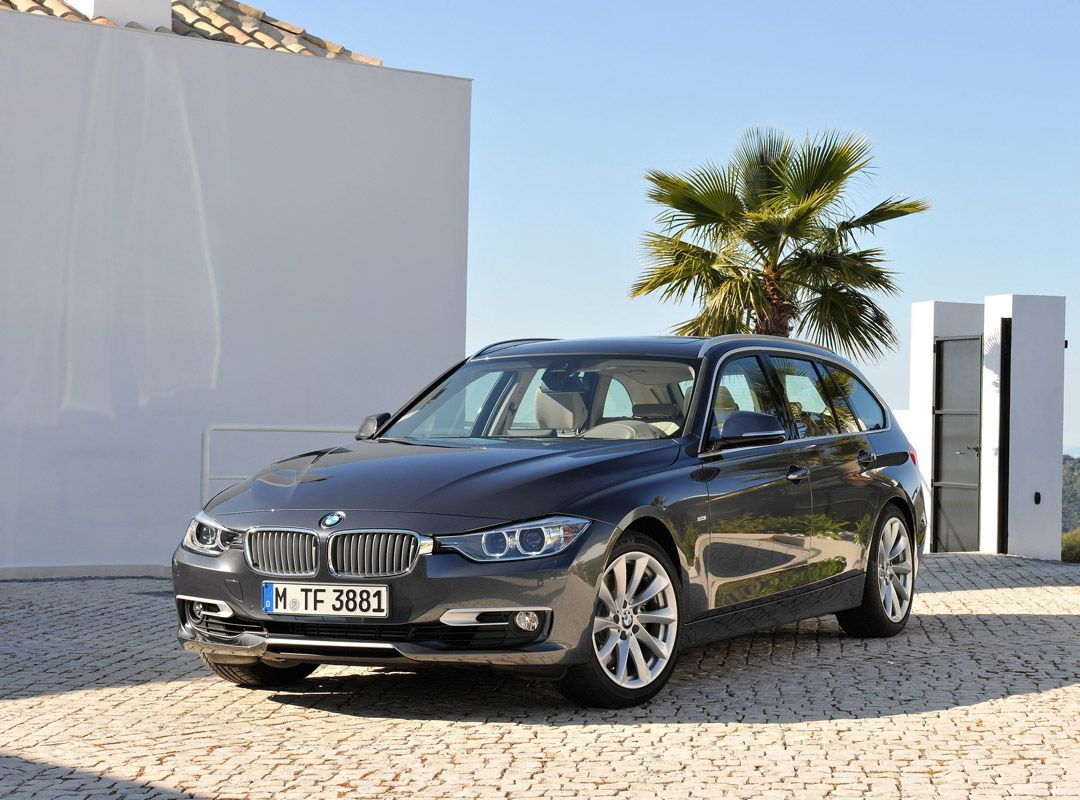 Новый универсал BMW 3-Series Touring (8 фото)