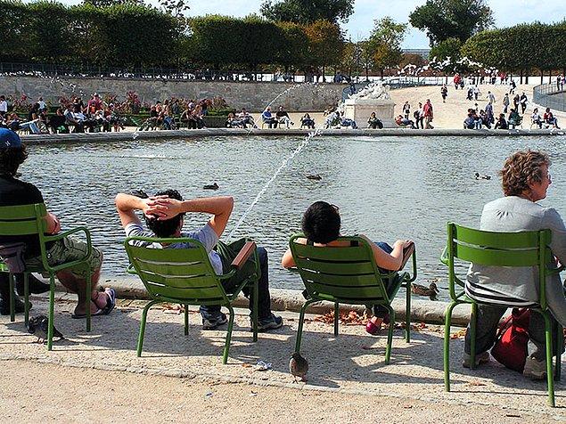 Идеальный момент в саду Тюильри, Париж