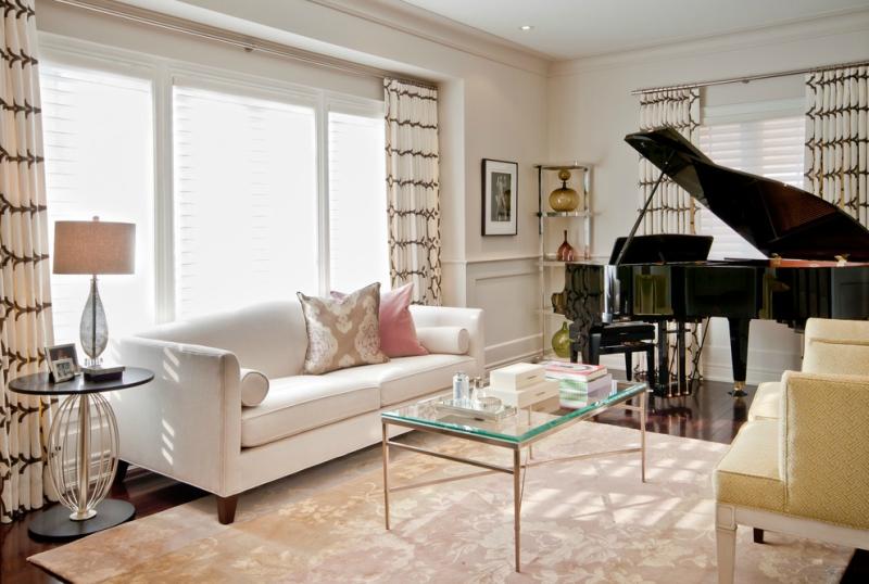 Пианино и рояль в дизайне интерьера фото 18