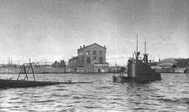 Дифферентовка подводной лодки Щ-308
