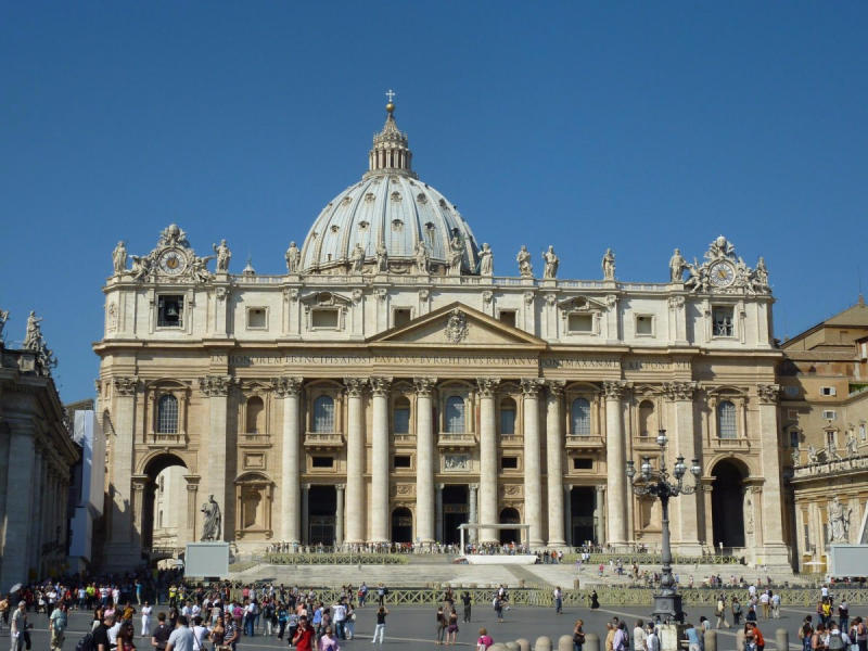 Average summer rates in Vatican City: June — $123, July — $108, August — $102 3. At a size o