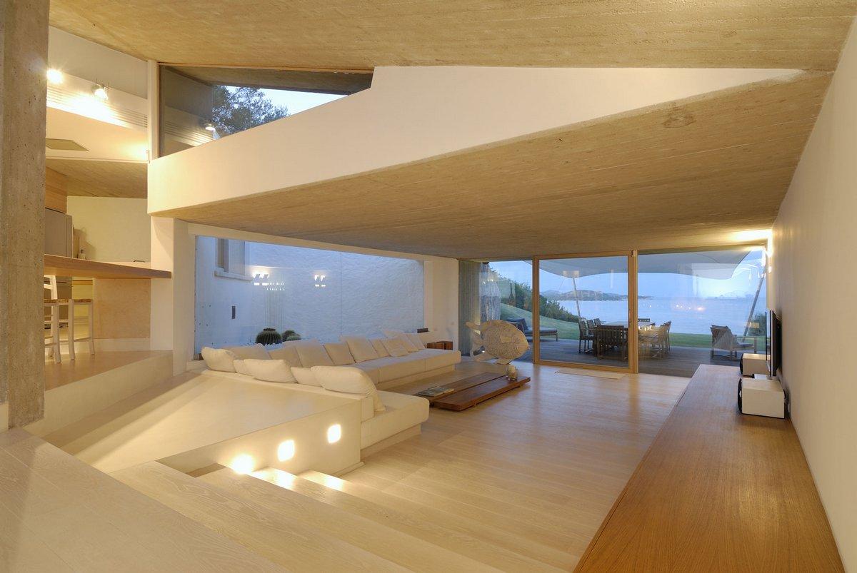 Alessandro Gadotti, Luca Marastoni, BONVECCHIO, инфинити бассейн, вилла в италии, джакузи в частном доме, дизайн минимализм фото, светлый интерьер