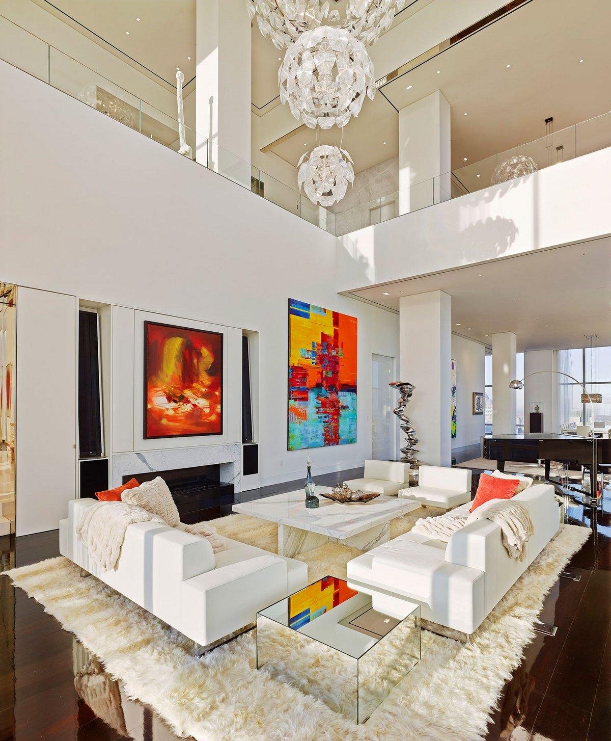 Private Residence I, Oda New York, самая большая квартира в мире, огромная квартира фото, квартира с видом на Нью-Йорк, квартиры в Нью-Йорке фото
