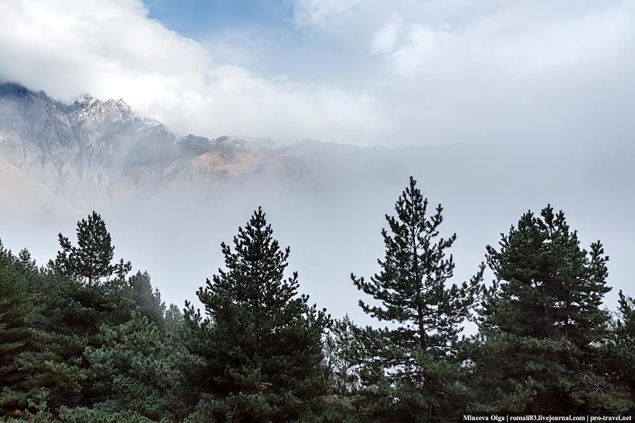 Горы Степанцминды