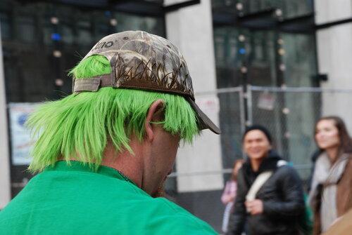 Зелёные волосы