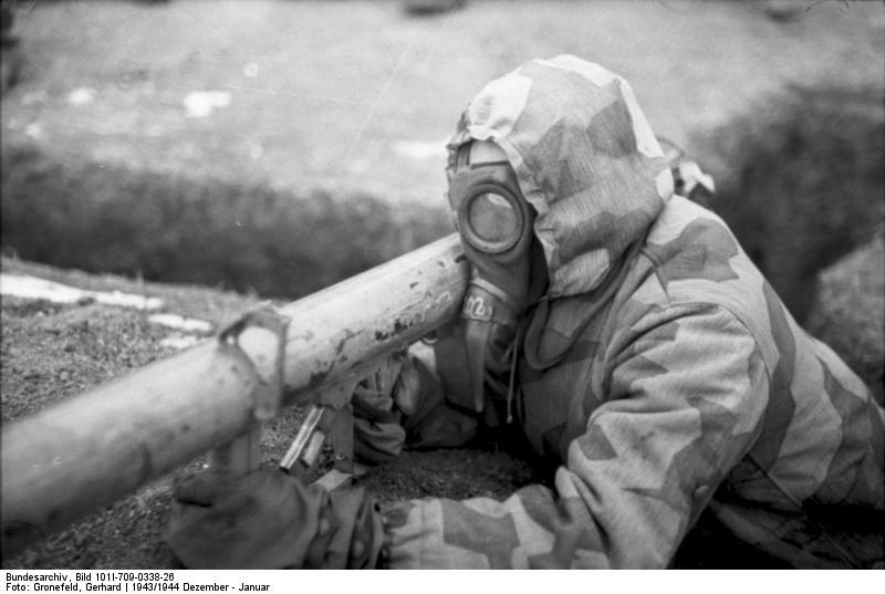 Ukraine, Soldat mit Raketenpanzerbьchse