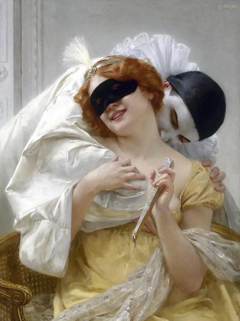 Pierrot's Embrace Guillaume Seignac