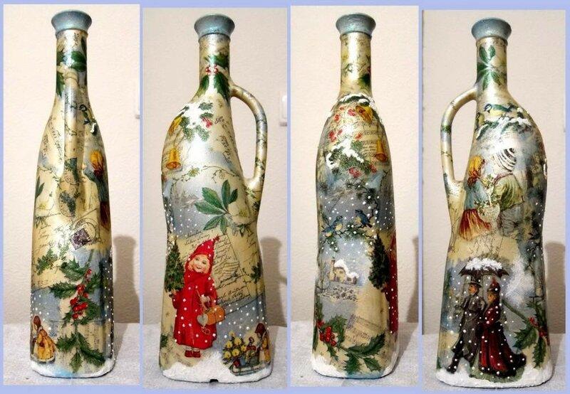 Бутылки разных мастеров