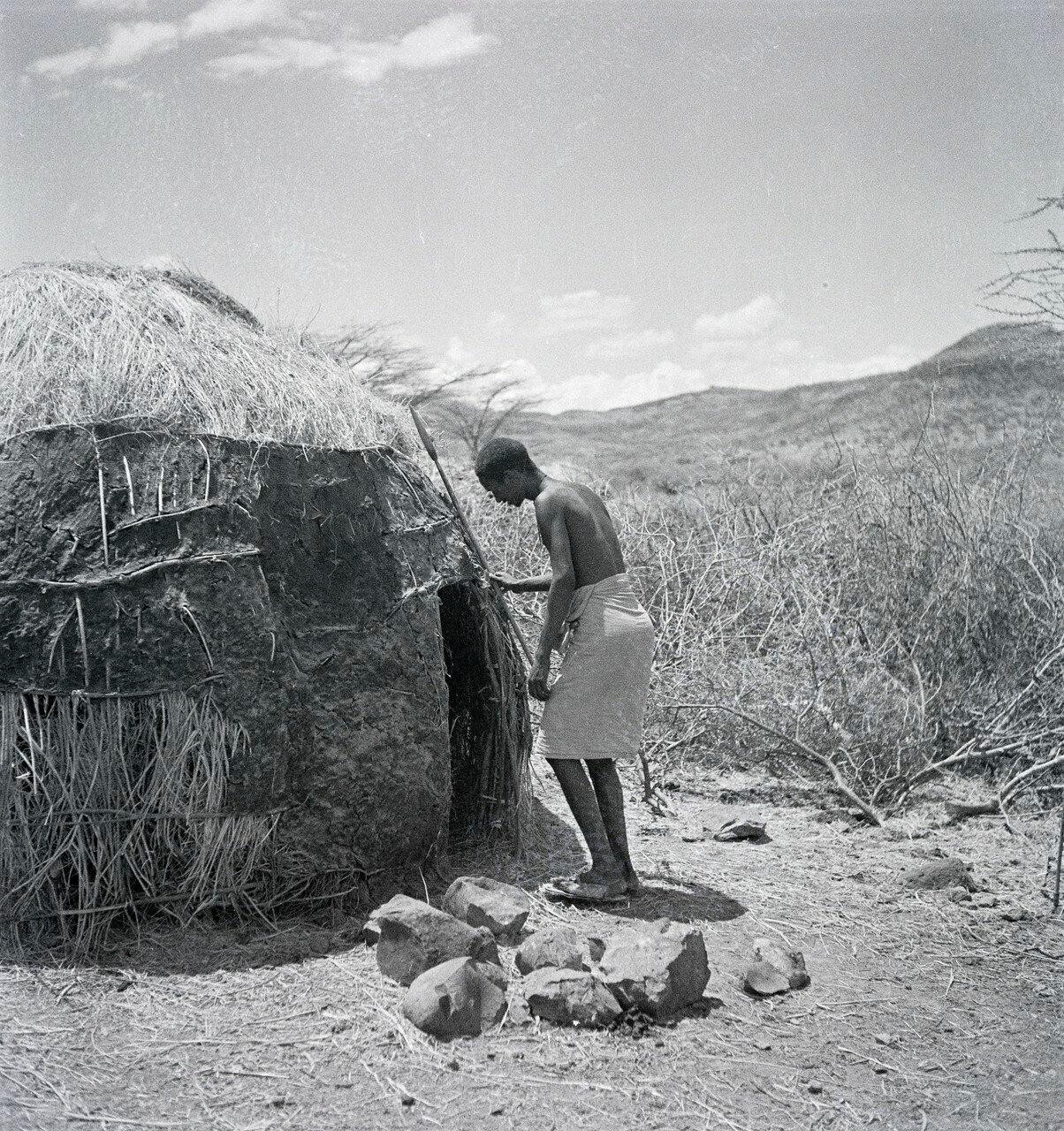 Житель Иту из юго-восточной части Абиссинии