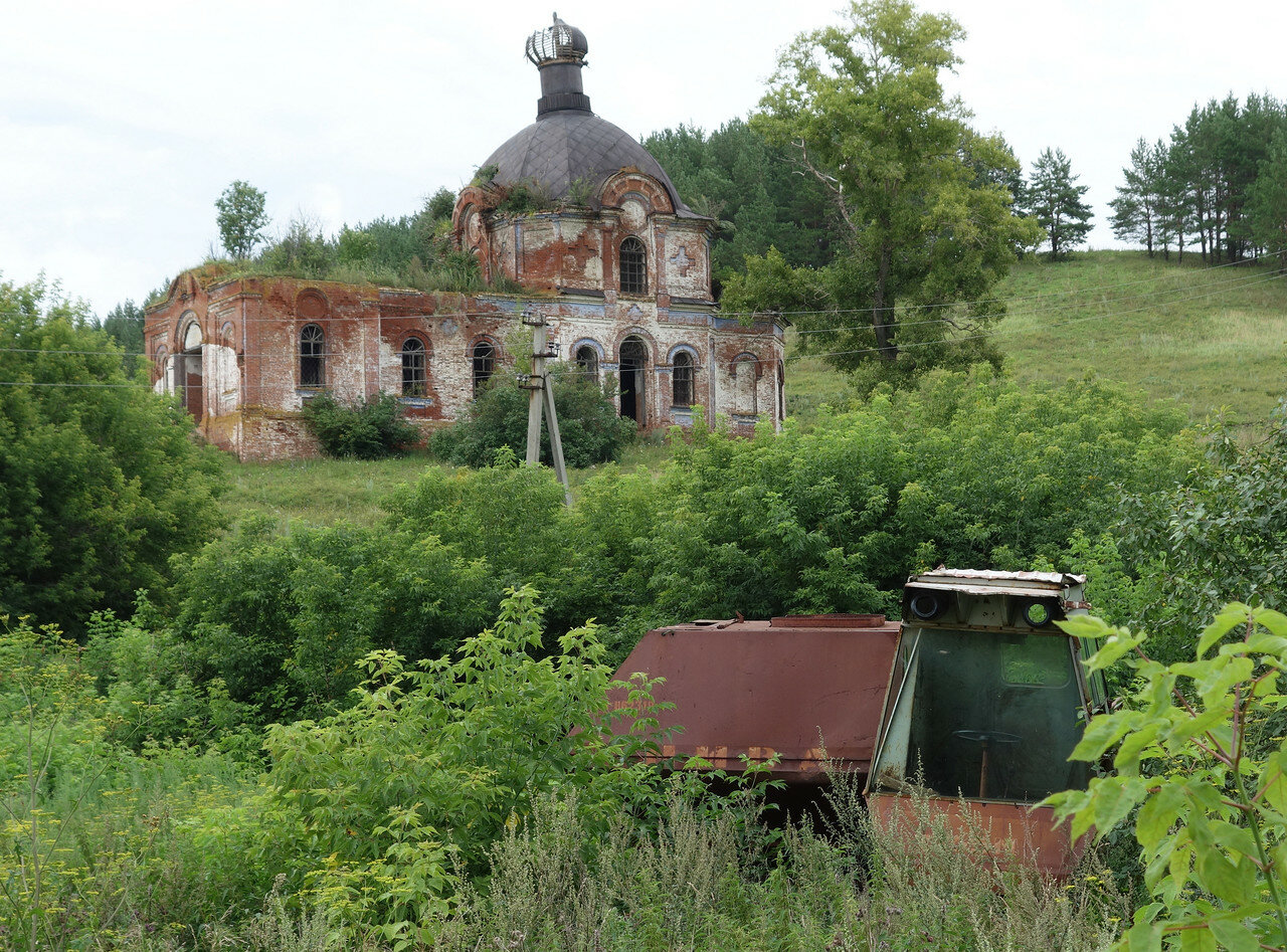 разруха в селе Крынды