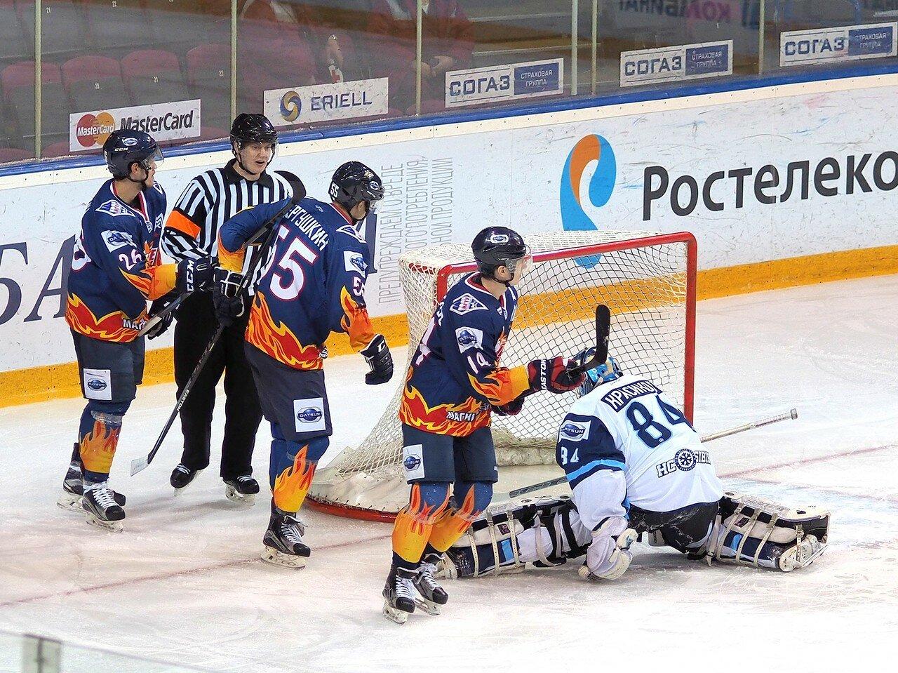 2Плей-офф МХЛ 2016 1/4 Стальные Лисы - Сибирские Снайперы 21.03.2016