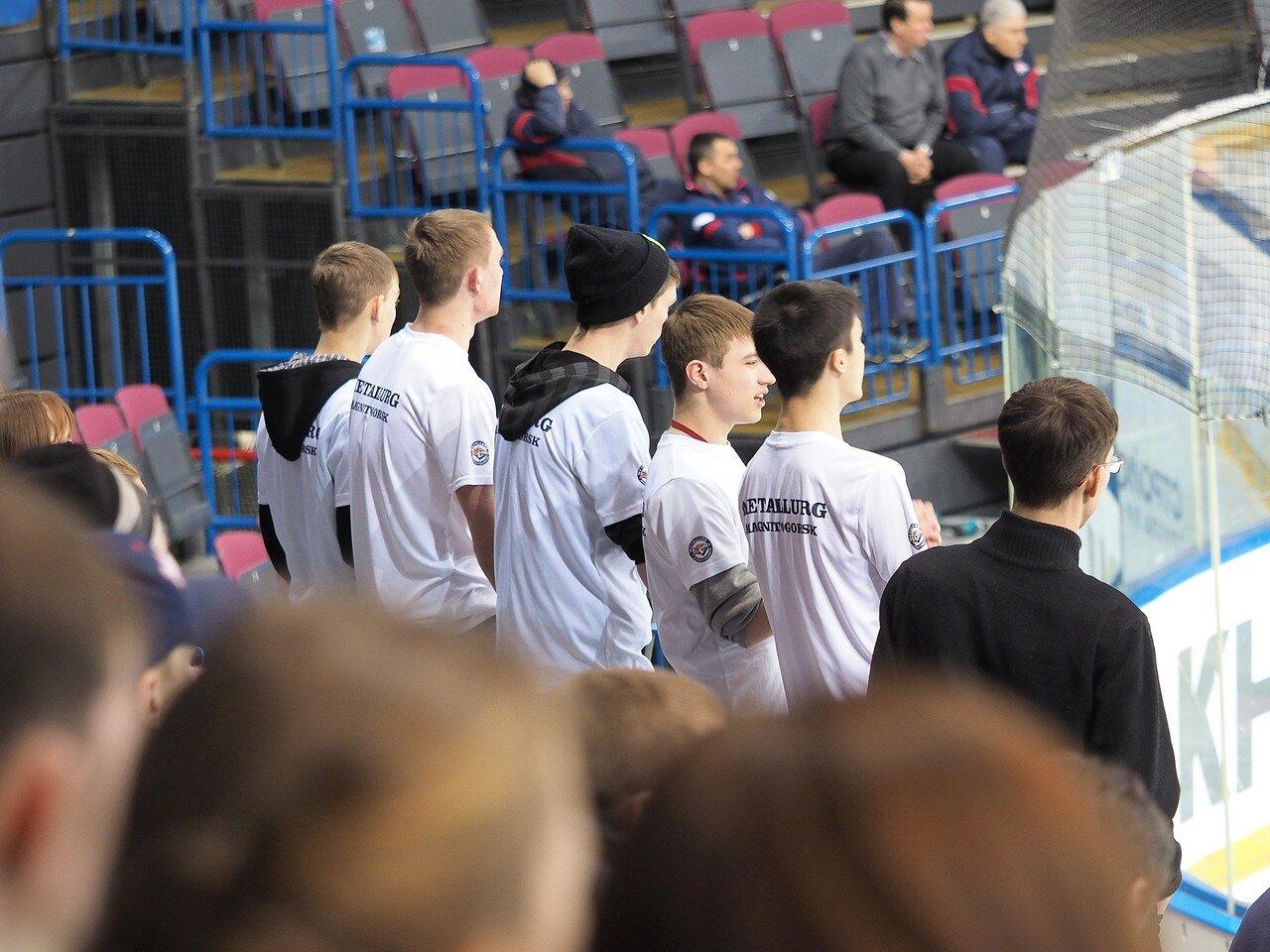 22Плей-офф МХЛ 2016 1/4 Стальные Лисы - Сибирские Снайперы 21.03.2016