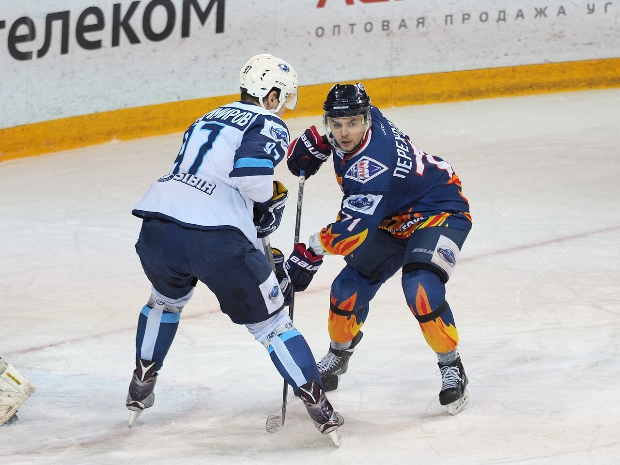 25Плей-офф МХЛ 2016 1/4 Стальные Лисы - Сибирские Снайперы 21.03.2016