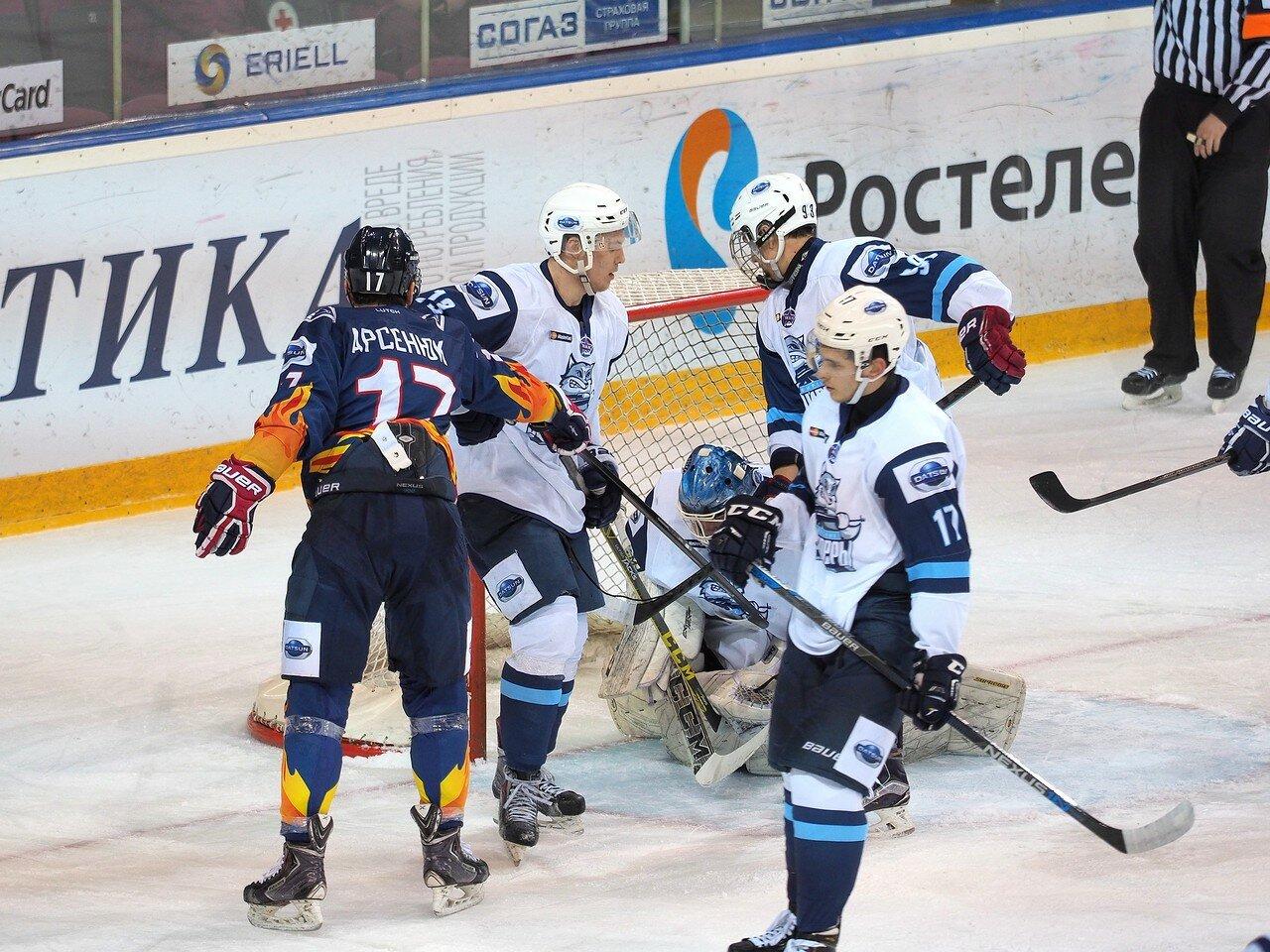 31Плей-офф МХЛ 2016 1/4 Стальные Лисы - Сибирские Снайперы 21.03.2016