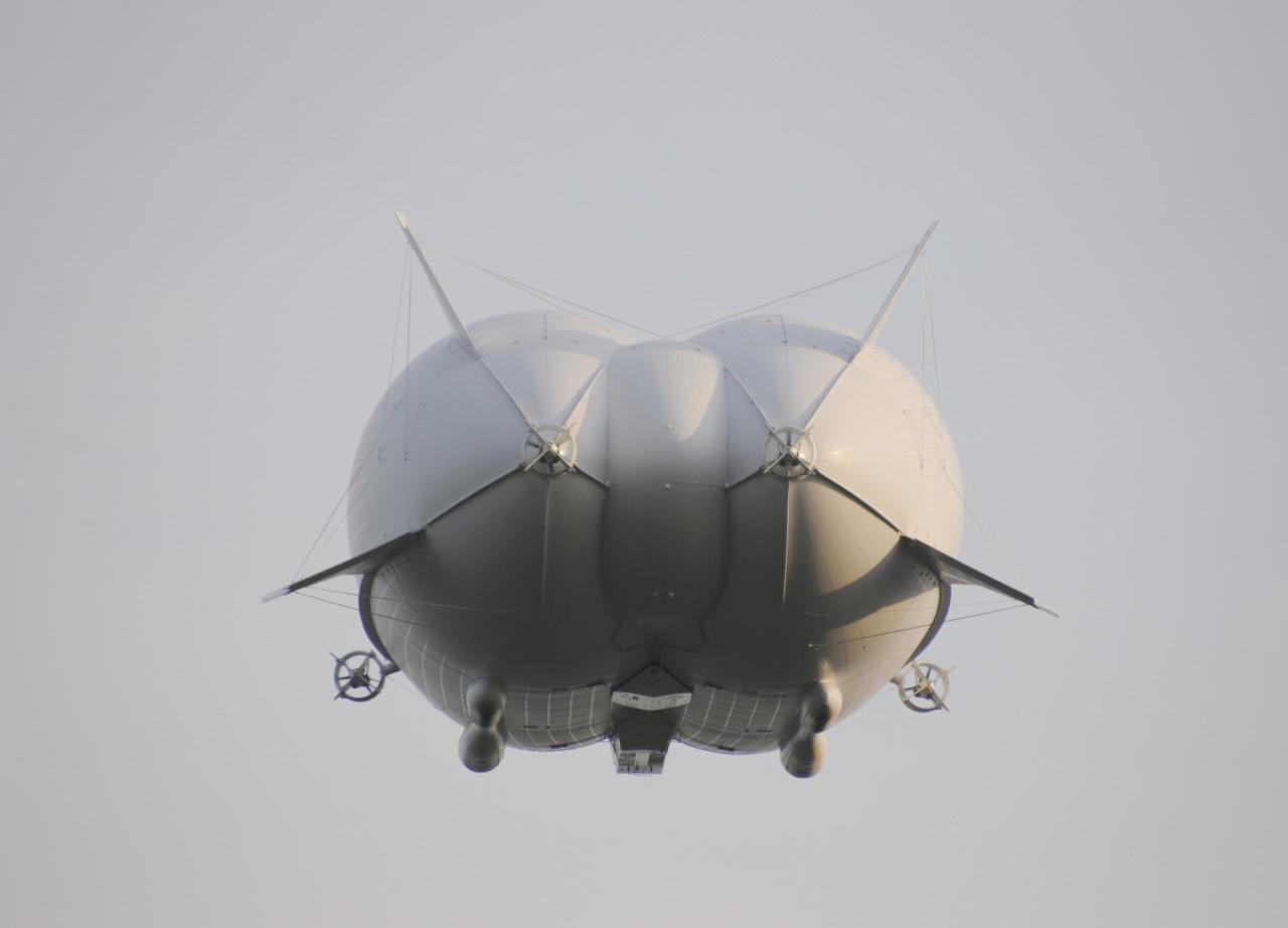 Самое большое в мире воздушное судно разбилось