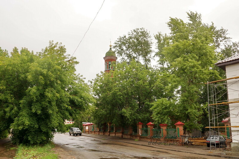 Бурнаевская мечеть (Третья соборная), 1872 г., Казань