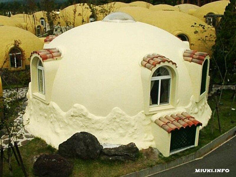 Японские дома из пенопласта