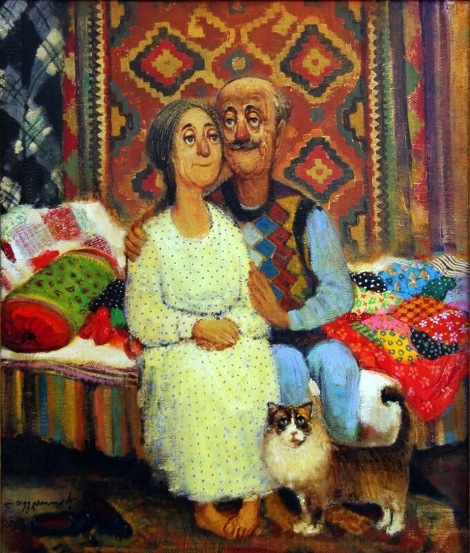 картины Ладо Тевдорадзе