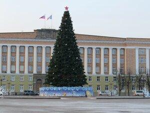 Главная новогодняя елка - Новый год в Великом Новгороде