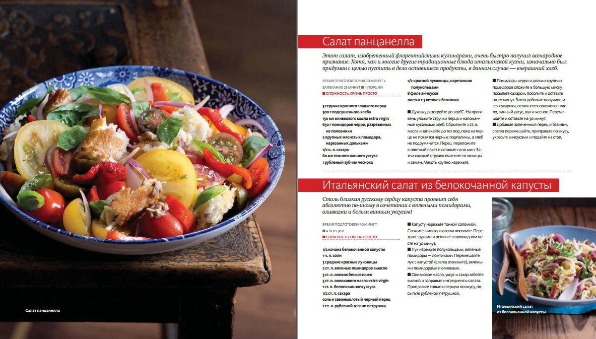 Рецепты - Итальянская кухня в домашних условиях c фото