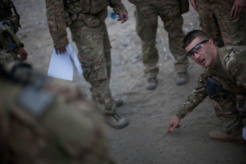 Американские военные в Афганистане 17