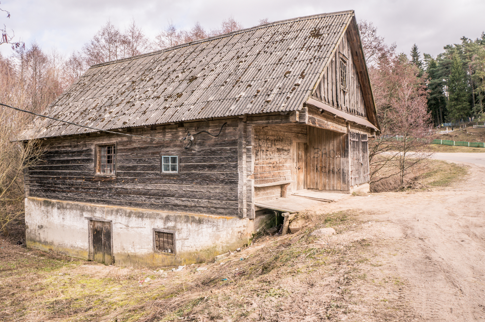 Водяная мельница на реке Валовка