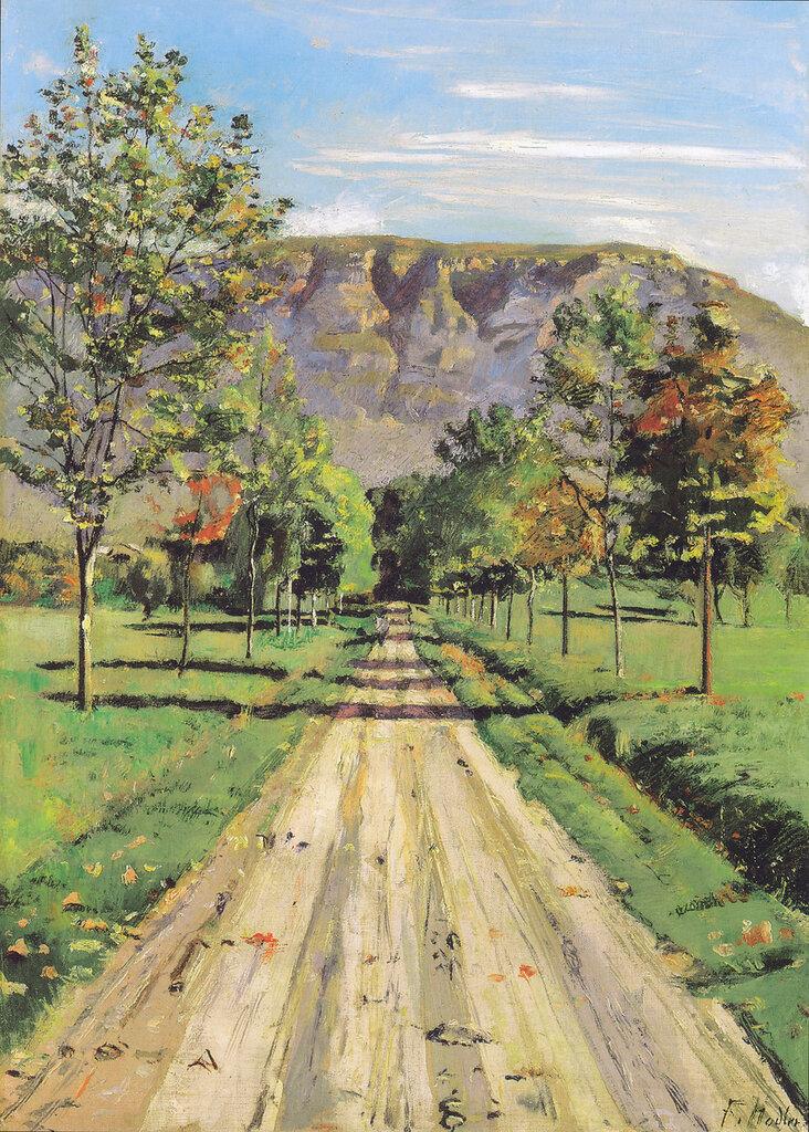 Die Strasse nach Evordes, 1890.jpeg