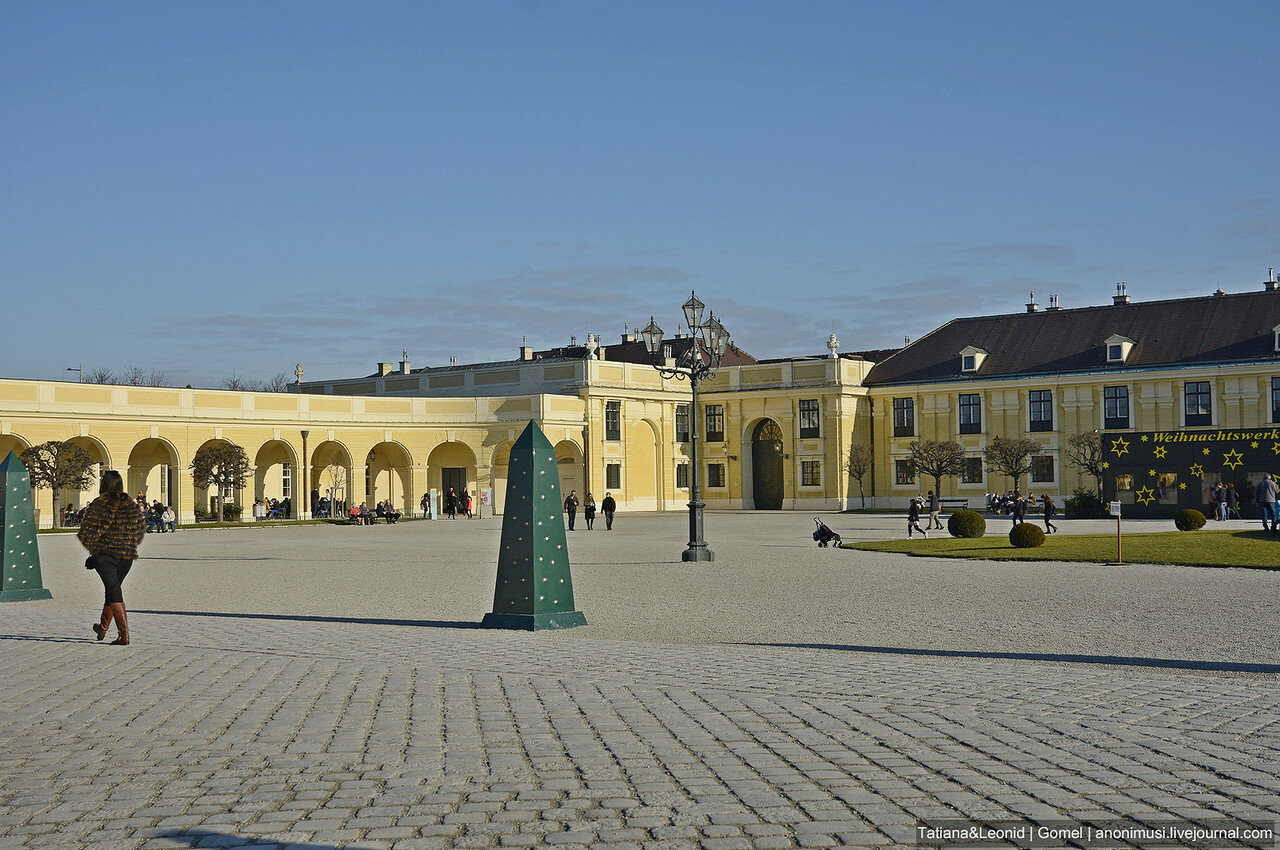 Дворцово-парковый ансамбль Шёнбрунн