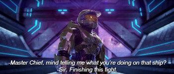 Первоначальная концовка Halo 2