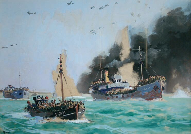 Albert Brenet - Operation Dynamo, the evacuation of Dunkirk