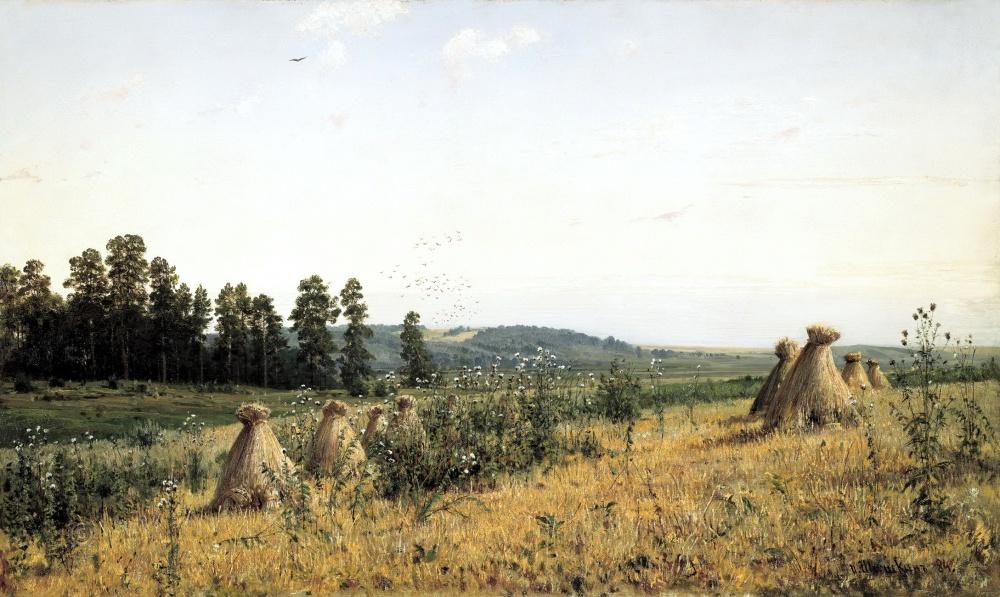 «Полесье», художник Иван Шишкин.
