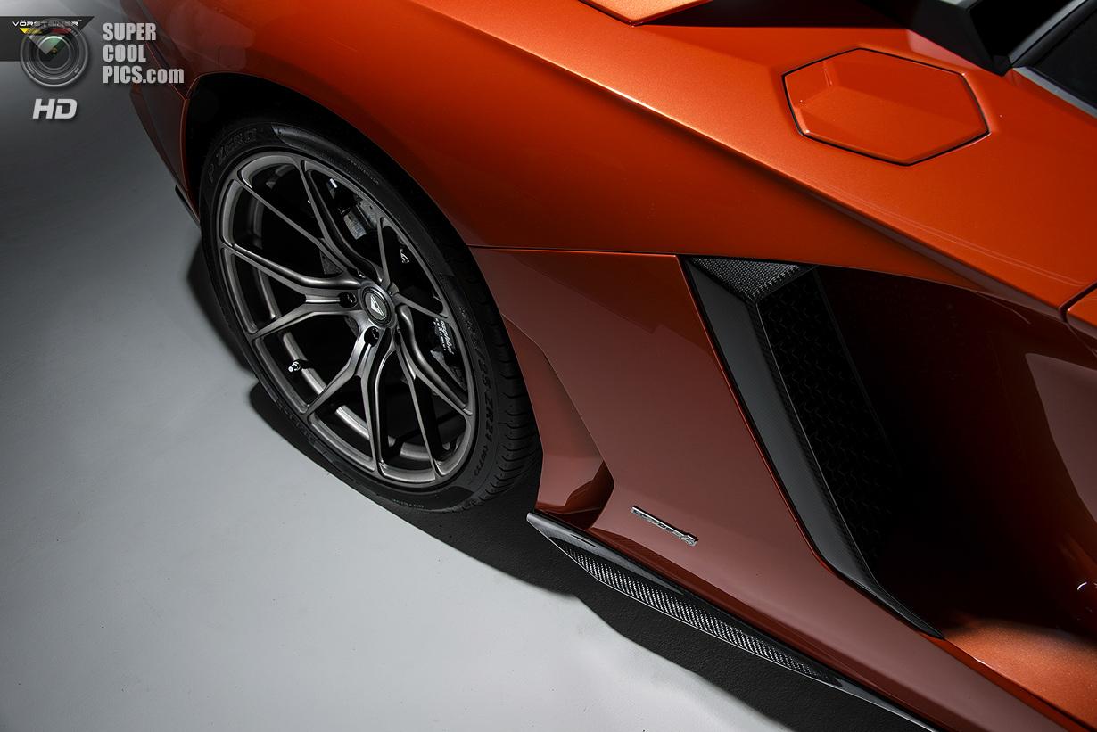 Vorsteiner представила свой взгляд на Aventador
