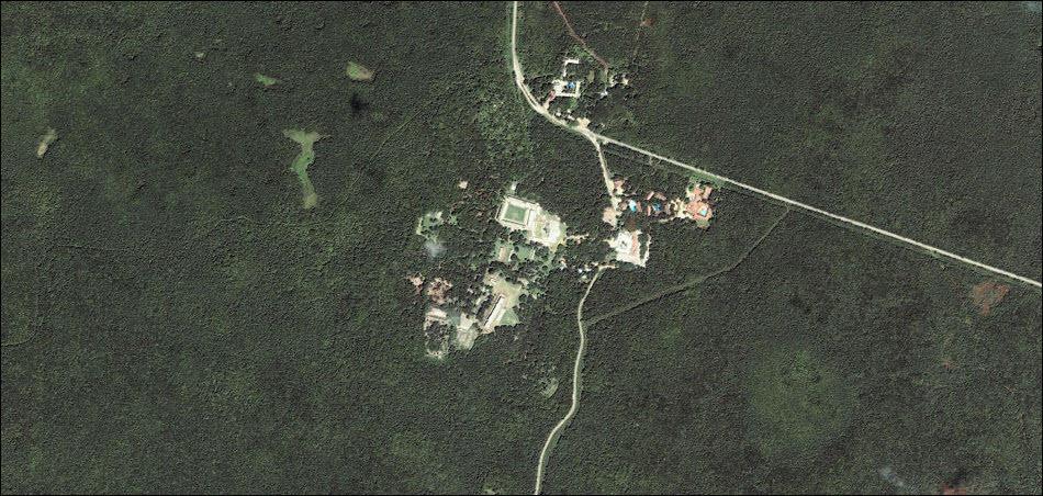 12. Раскопки в местах обитания цивилизации Майя.