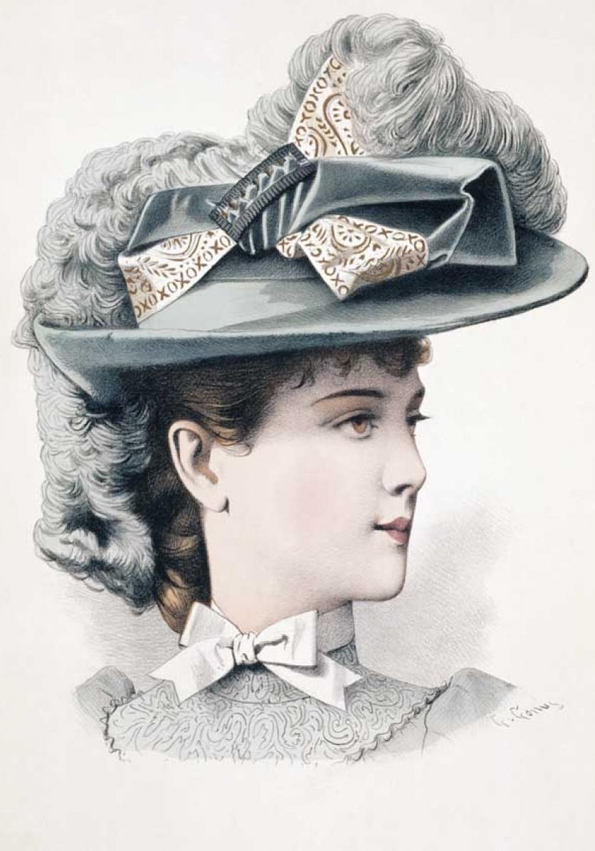 День, открытки 1890