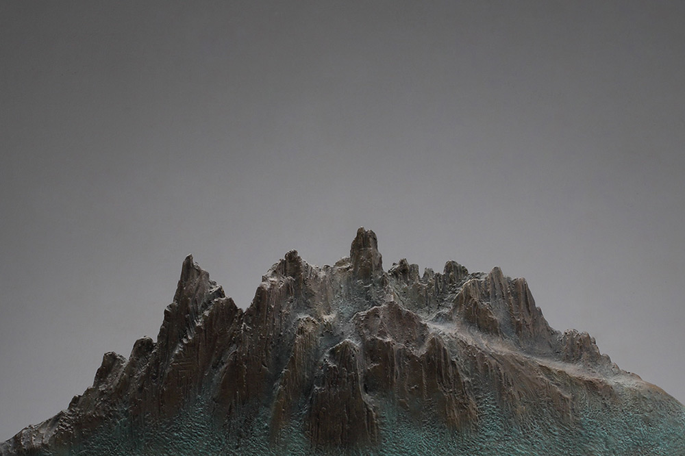 DREAMS-Mountain & Sea No.1, detail.