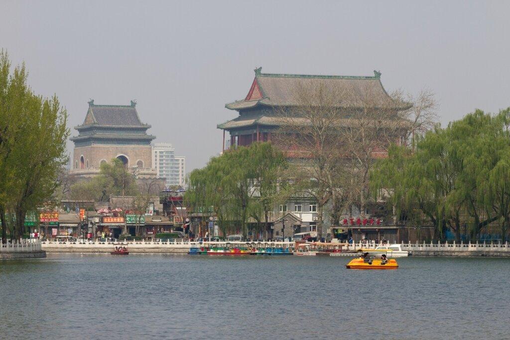 Барабанная и Колокольная башни, Шичахай, Пекин