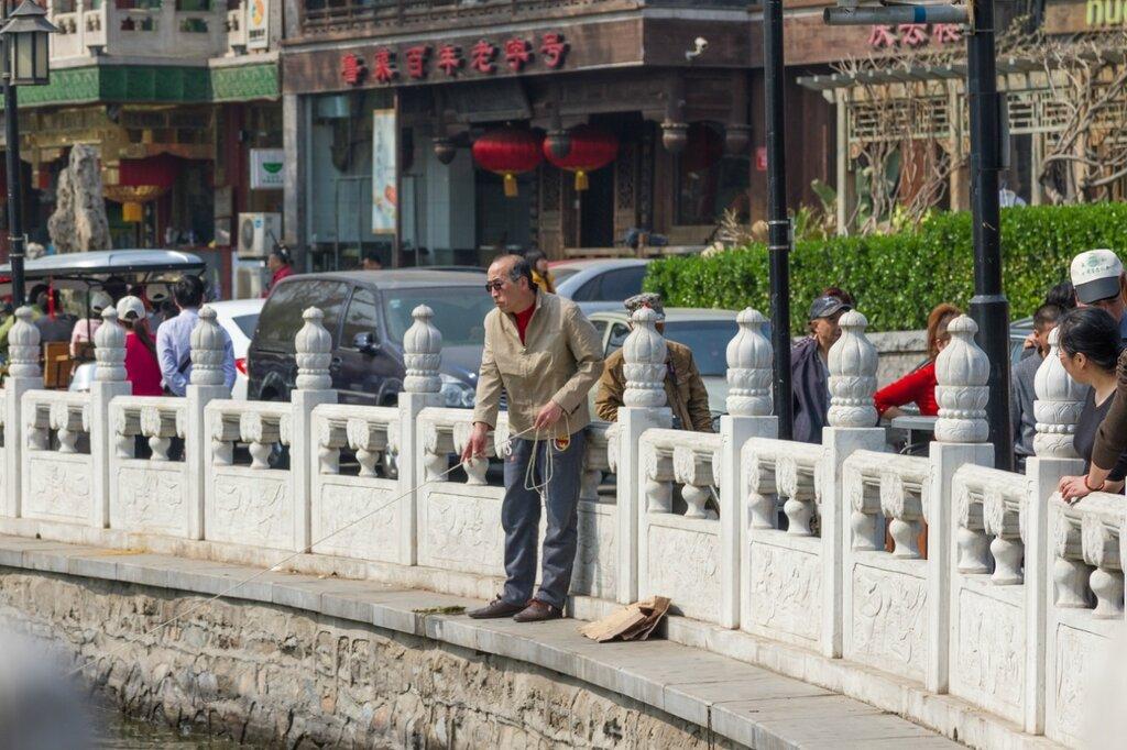 Рыбак, Шичахай, Пекин