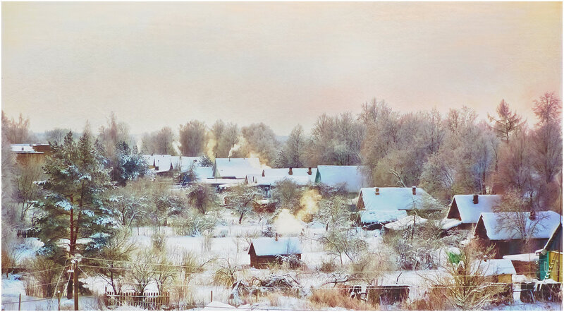 иллюстрация к зимней Сказке