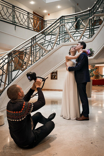 снимаем свадьбу
