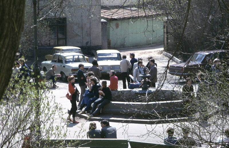 403333 Двор Московского Архитектурного института из окна напротив.jpg