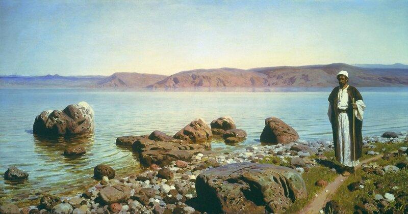 В. Поленов. На Тивериадском озере. 1888.jpg