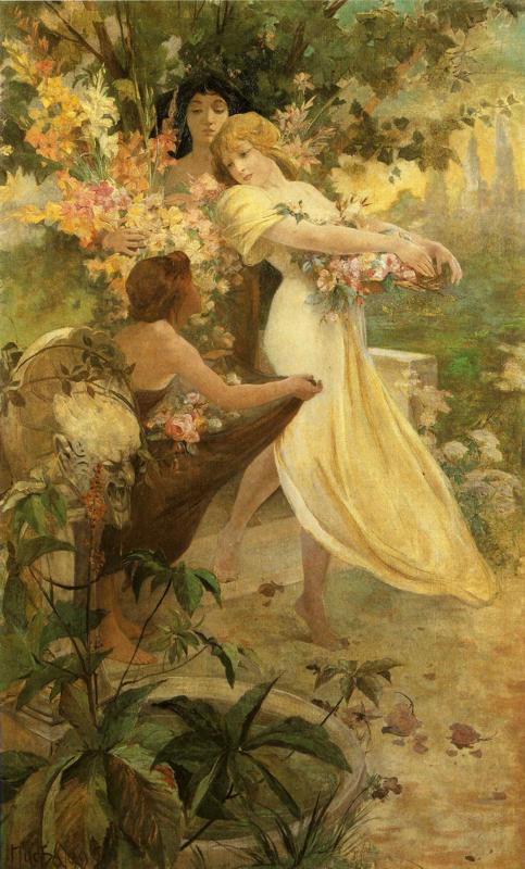 """""""Цветок"""", 1894 г."""