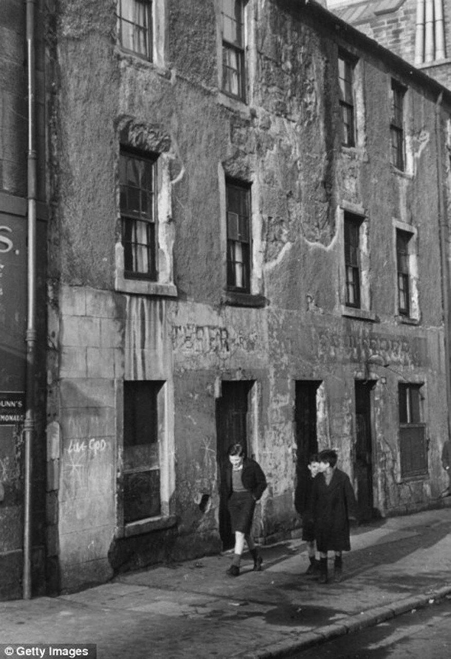 1940-е. Дети на улице в Горбалсе, Глазго