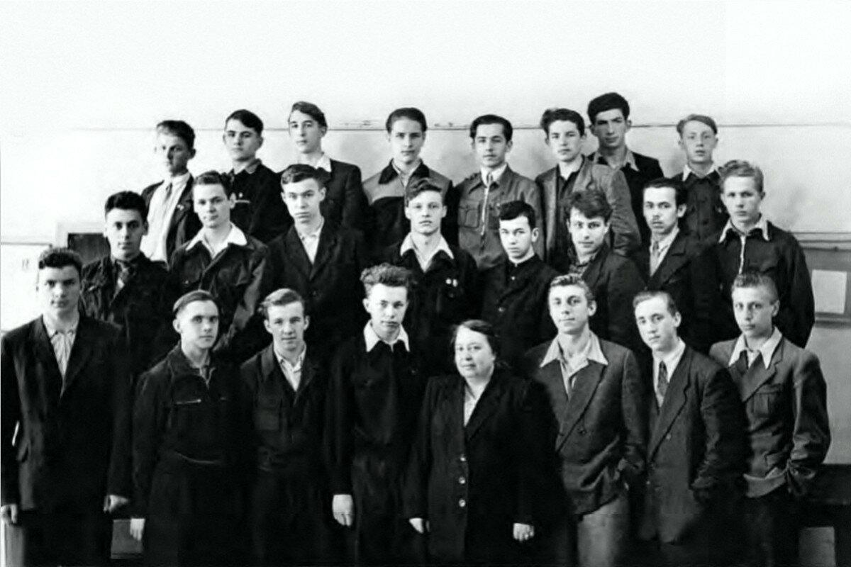 1955. 10«в» класс Московской школы №186