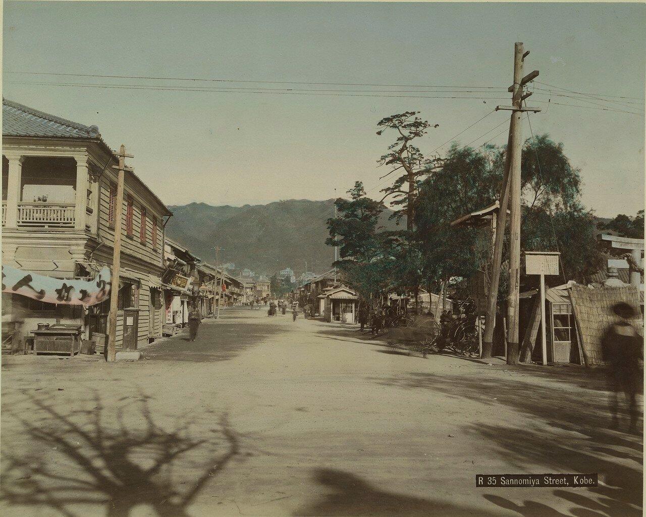 Кобе. Торговый квартал Санномия