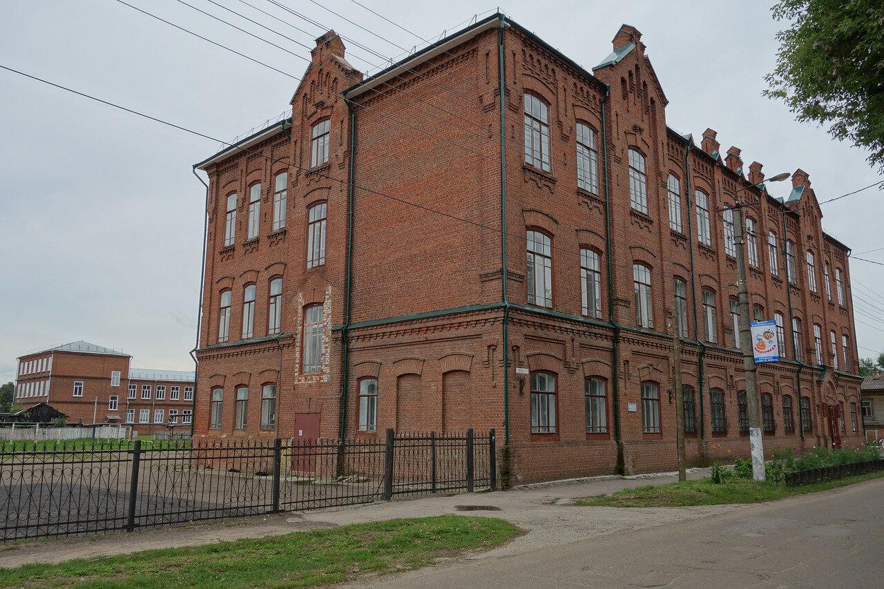 бывшая женская гимназия