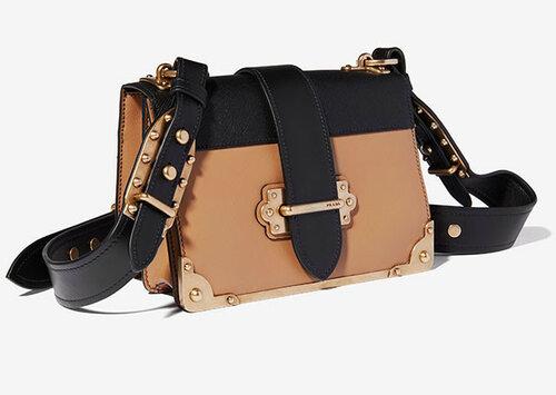 Новые сумки Prada из коллекции осень-зима 2016 уже в продаже