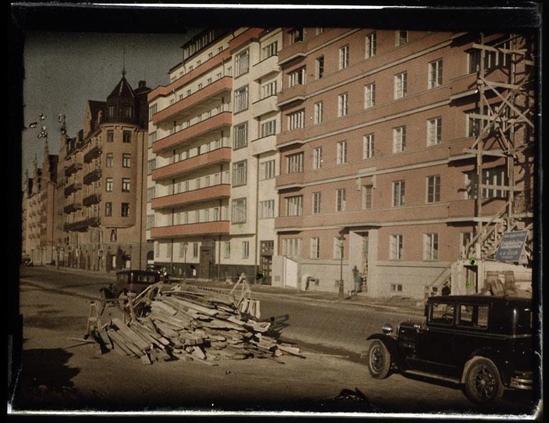 1926 Stockholm Kungsholms Hamnplan by Gustaf Cronquist.JPG
